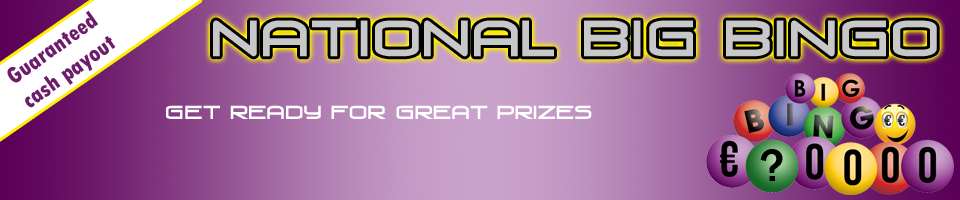 National Big Bingo website
